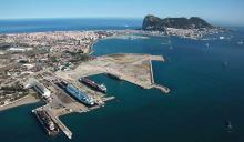 Vista de la Bahía de Algeciras