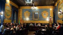 Pleno ayuntamiento en Algeciras