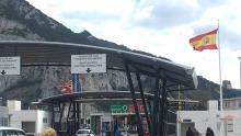 Paso de la verja La Línea-Gibraltar