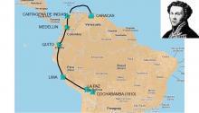 Composición de la expedición Salvany a partir de una imagen del blog Viajes Navales