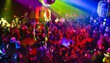 Fiesta en una discoteca, en una imagen de archivo