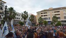 Manifestación contra el narcotráfico en Algeciras