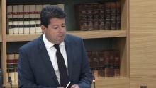 Picardo, en una intervención en el Parlamento