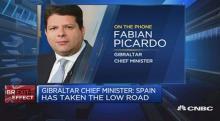 Picardo, en los titulares de la CNBC