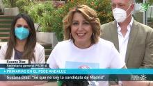 Susana Díaz anuncia su candidatura al PSOE Andalucía. Imagen Canal Su