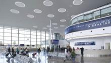 Terminal del aeropuerto de Gibraltar