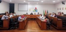 Luis Ángel Fernández presidió hoy su última Junta de Comarca al frente de la Mancomunidad