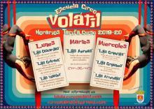 El 'Circo Volátil' oferta ya sus talleres para un nuevo curso