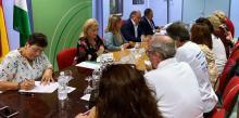 Marea Blanca Tarifa participó de la reunión de la Coordinadora Comarcal por la Sanidad para tratar los problemas más preocupantes del Área Sanitaria