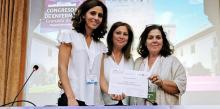La Sociedad Española de Otorrinolaringología premia a tres enfermeras de esta especialidad del Hospital Punta de Europa