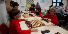 Manuel Portero, Sebastián Mesa y Yago Santos, ganadores del Torneo de Navidad de Ajedrez