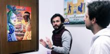 'Entre dos orillas' la colorista propuesta de una fuengiroleña estudiante de Bellas Artes es el cartel anunciador del Carnaval 2020