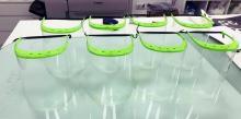 Voluntarios y empresas con impresoras 3D fabrican máscaras faciales para sanitarios y trabajadores en exposición al COVID-19