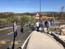 Abierto al tráfico el nuevo acceso a las barriadas de El Lazareto y El Palmarillo