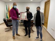 El Ayuntamiento reconoce el trabajo solidario del Banco de Alimentos durante la pandemia