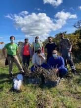 El Ayuntamiento colabora en la repoblación forestal de Los Alcornocales