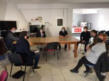 El PSOE analiza con Verdemar la implantación de la planta de Gas Natural Licuado