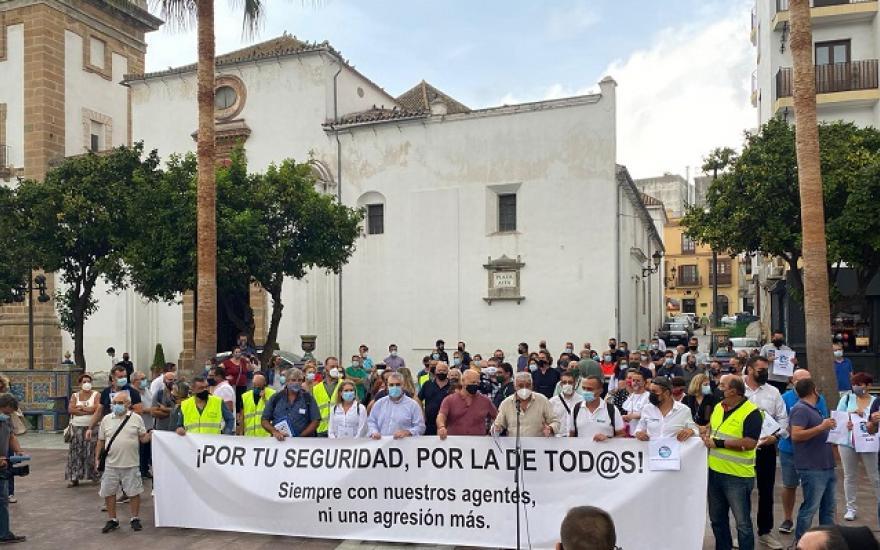 'Por tu seguridad' pide en Algeciras más medios en la lucha contra la droga
