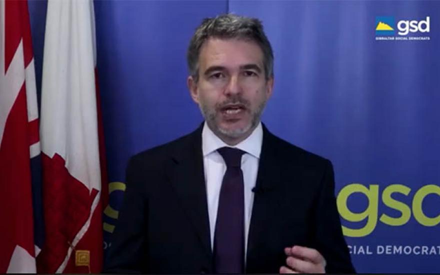 Azopardi, líder del GSD, en una imagen de archivo