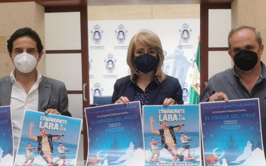 El Comandante Lara y Frozen, en julio en Algeciras