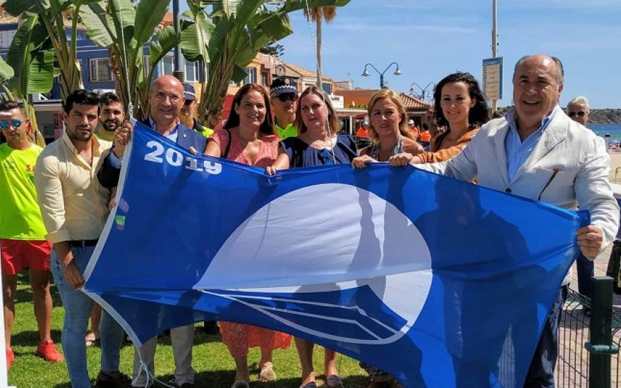 Landaluce, satisfecho por la Bandera Azul concedida a Getares