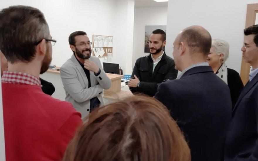 El alcalde, Juan Franco, visitó este miércoles las instalaciones