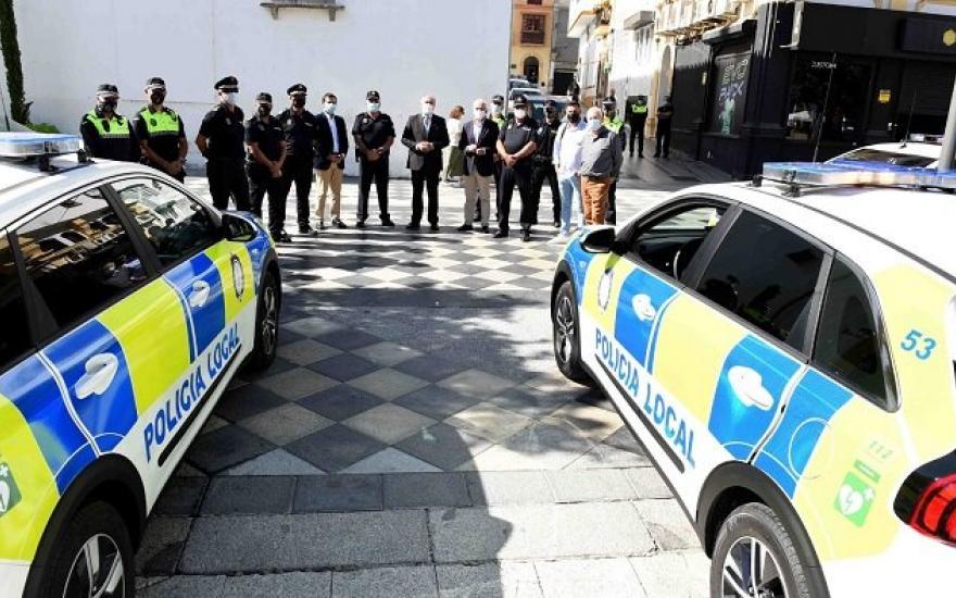 Presentados los nuevos vehículos de la Policía Local de Algeciras