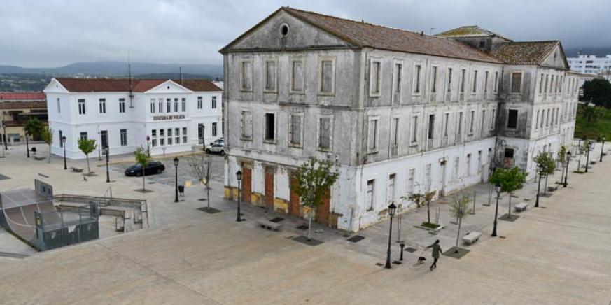 Imagen del pabellón del antiguo cuartel Diego Salinas. Foto Multimedia