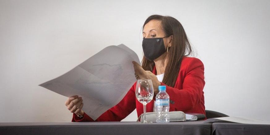 Beatriz Corredor, presidenta de REE. Foto: Sergio Rodríguez