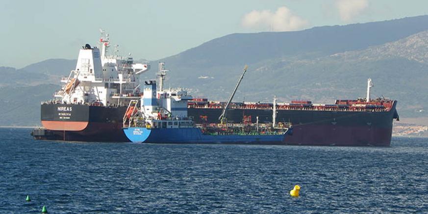 Gibraltar apuesta por seguir en la vanguardia de los avances en el bunkering. Foto NG