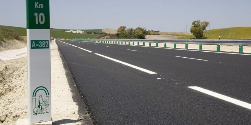 Una carretera andaluza, titularidad de la administración autonómica