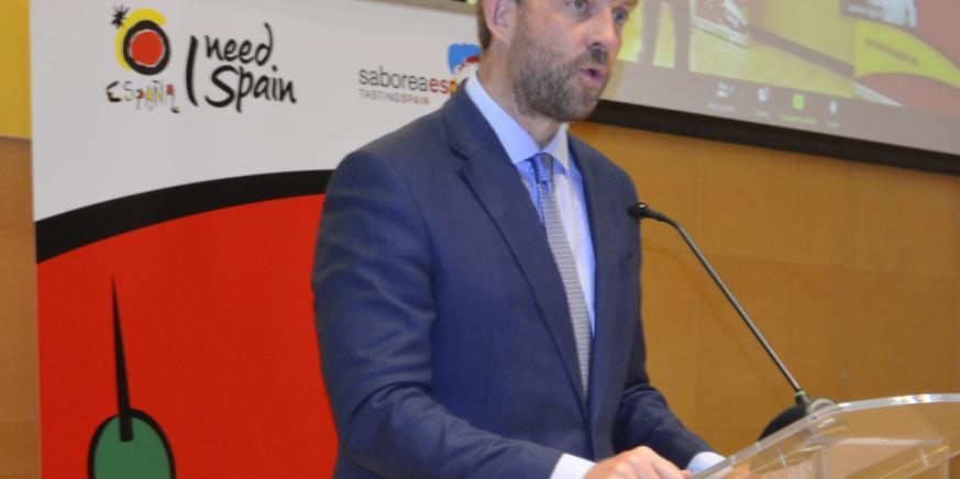 El secretario de Estado de Turismo, Fernando Valdés. Foto Mincotur
