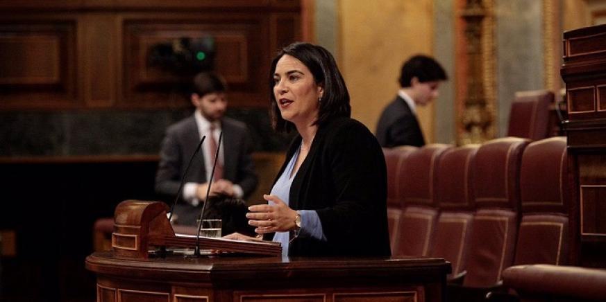 La diputada María del Carmen Martínez, de C's. Foto: NG