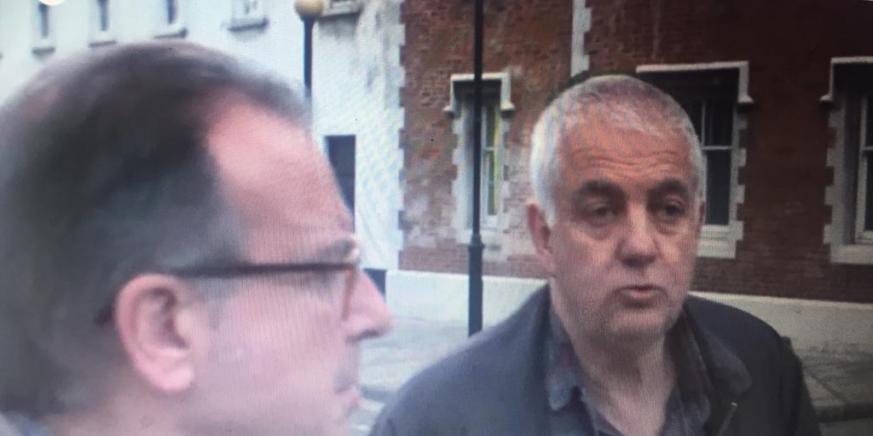 Michael Netto en un reportaje emitido por Cuatro. Foto NG