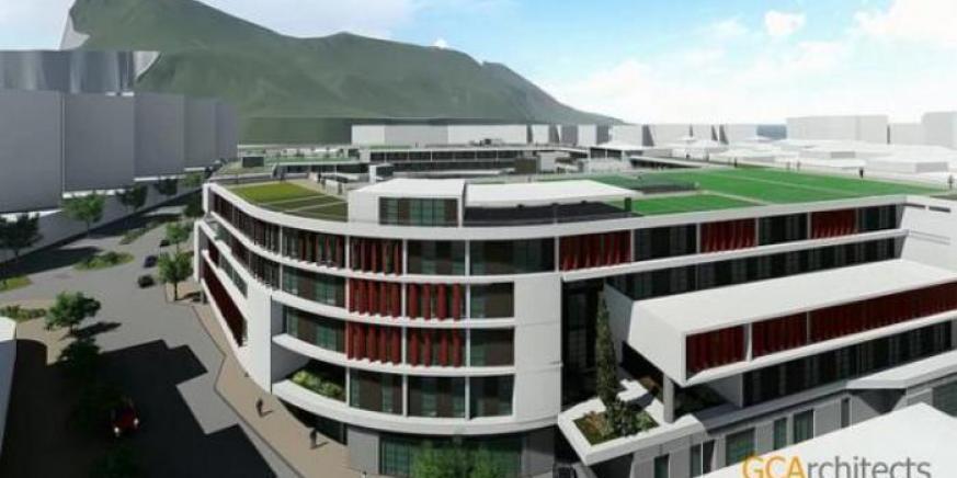 Imagen de cómo será uno de los centros educativos