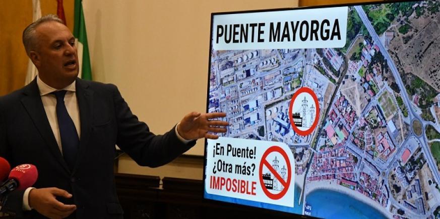 Juan Carlos Ruiz Boix, alcalde de San Roque. Foto: NG
