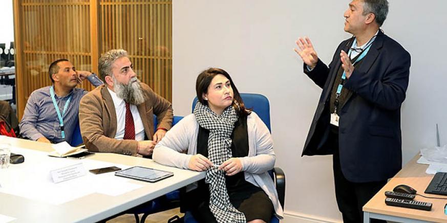 Reunión de sanidad pública para coordinar la actuación ante el coronavirus. Foto InfoGibraltar