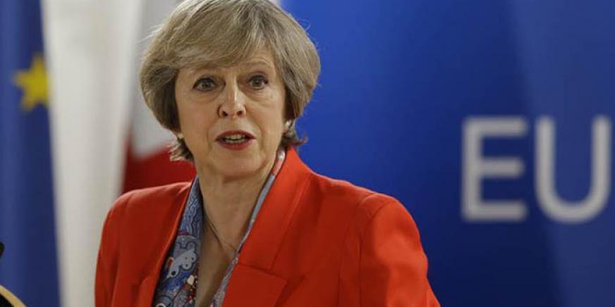 Theresa May, primera ministro británica