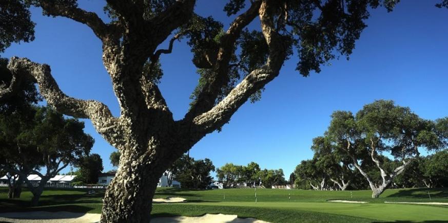 Una imagen del campo de golf de Valderrama, en San Roque. Foto: sanroque.es