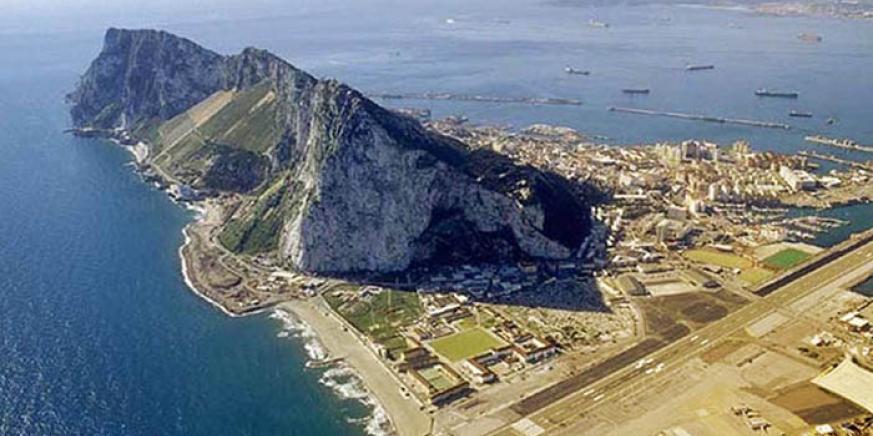 Vista aérea de Gibraltar. Foto NG